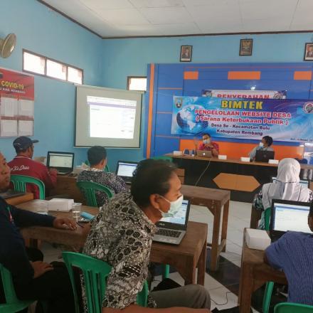 16 Desa di kecamatan bulu  Siap Go online